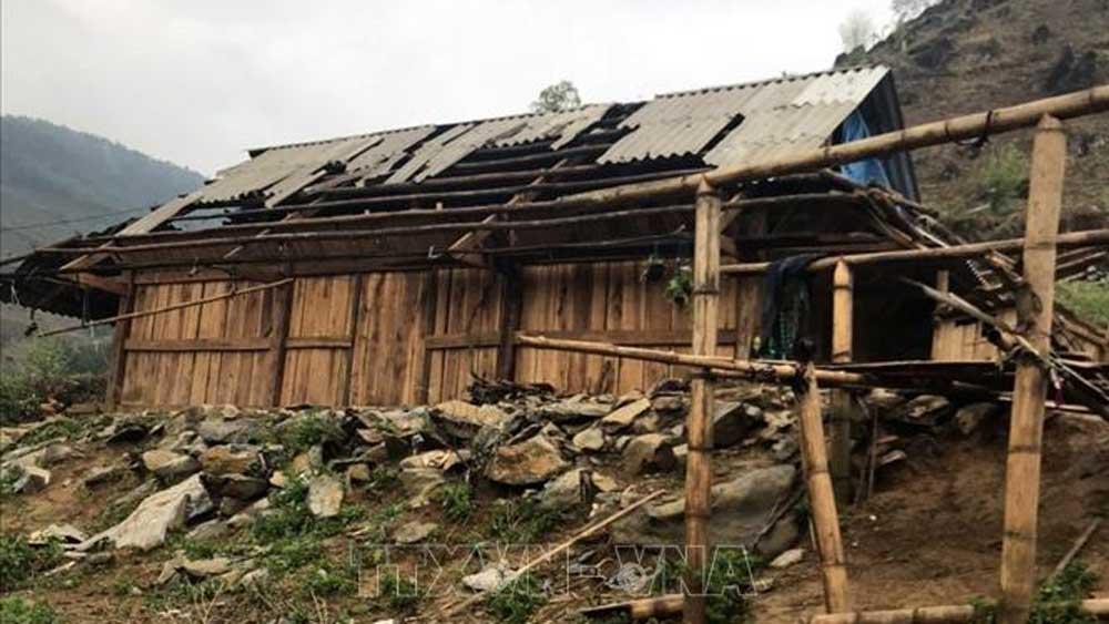 Mưa đá, mưa đá tại Lai Châu, giông lốc