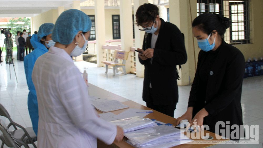 636 cases, concentrated medical isolation, Bac Giang province, isolated sites, normal health condition, Covid-19
