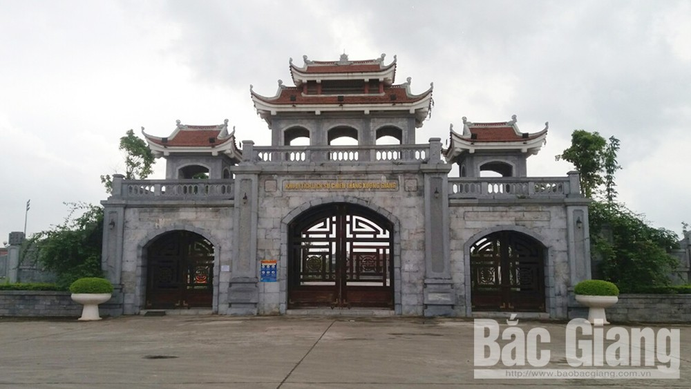 Khu Di tích Quốc gia đặc biệt địa điểm Chiến thắng Xương Giang (TP Bắc Giang) tạm đóng cửa để phòng dịch.
