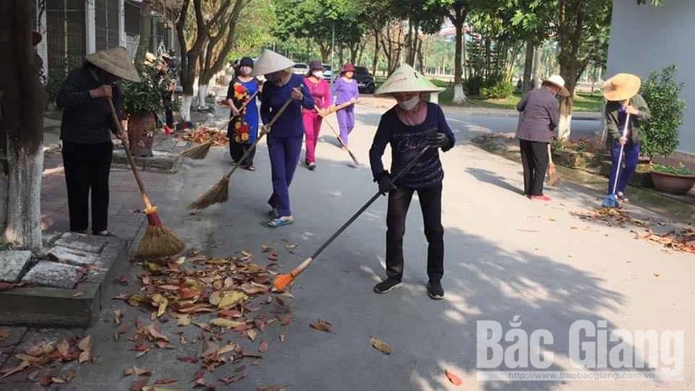 môi trường, covid-19, TP Bắc Giang, Bắc Giang