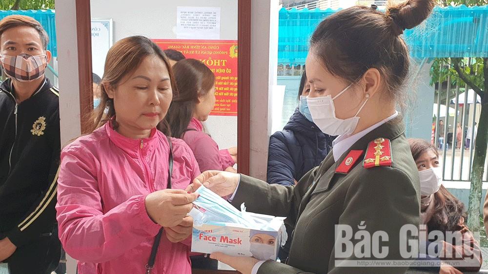 Công an tỉnh Bắc Giang, rà soát người nhập cảnh, Phòng chống dịch covid-19