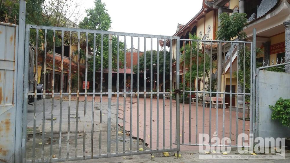 Chùa Hồng Phúc, TP Bắc Giang ngày 25/3/2020