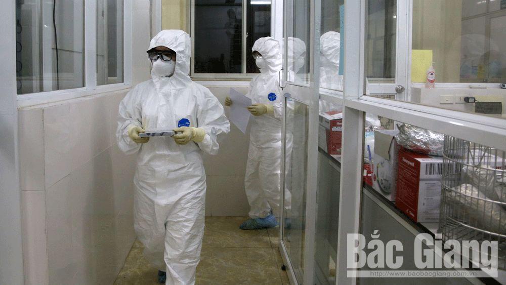 xét nghiệm, covid-19, Trung tâm kiểm soát bệnh tật, CDC Bắc Giang