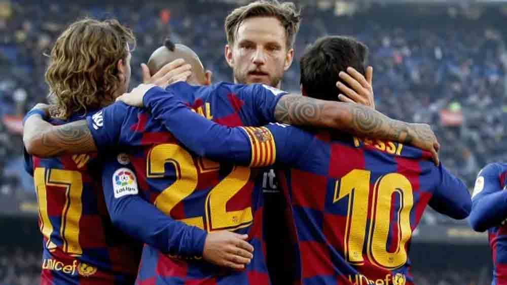 Rakitic, Griezmann, Barca, Coutinho, Barcelona