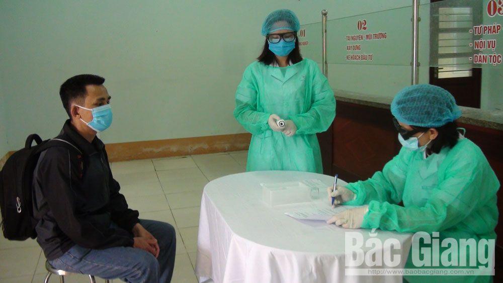Huyện Yên Thế diễn tập phòng, chống dịch Covid-19