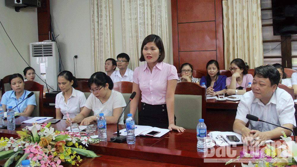 BHXH tỉnh Bắc Giang hướng dẫn doanh nghiệp tạm dừng đóng quỹ hưu trí, tử tuất