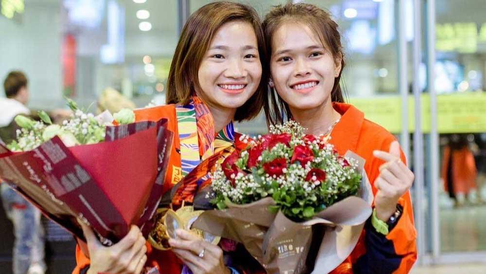 Gương mặt trẻ Việt Nam tiêu biểu, Nguyễn Thị Oanh, coi khó khăn là động lực, giành lấy vinh quang, tỉnh Bắc Giang, giải điền kinh
