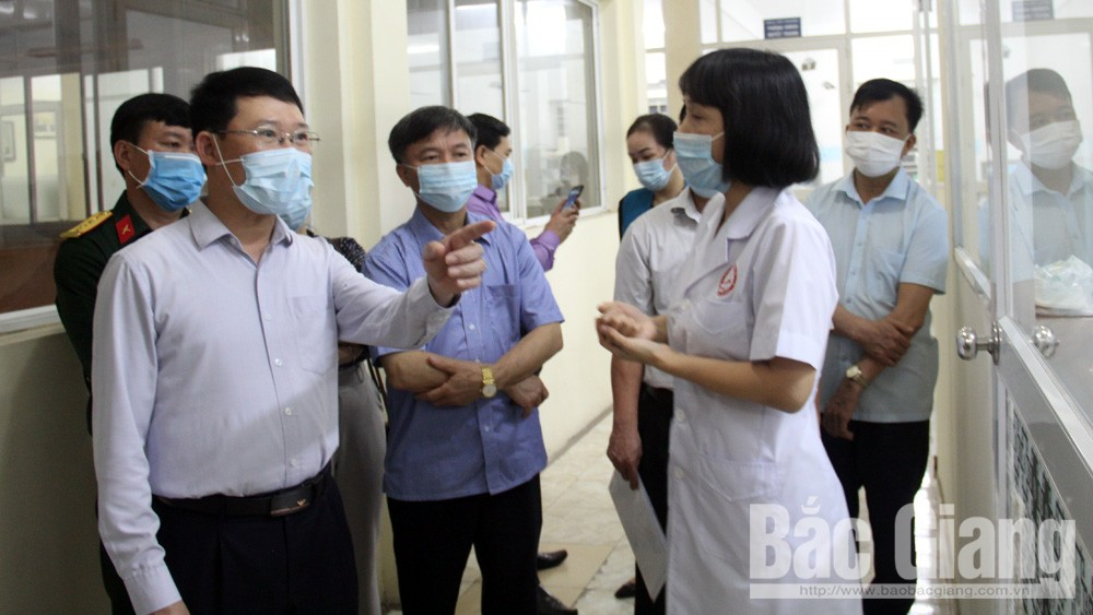 Bac Giang continues bettering pandemic control in community