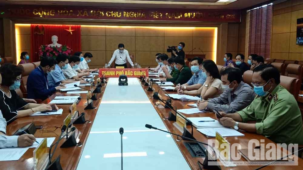 TP Bắc Giang diễn tập cách ly y tế khu vực có dịch Covid-19