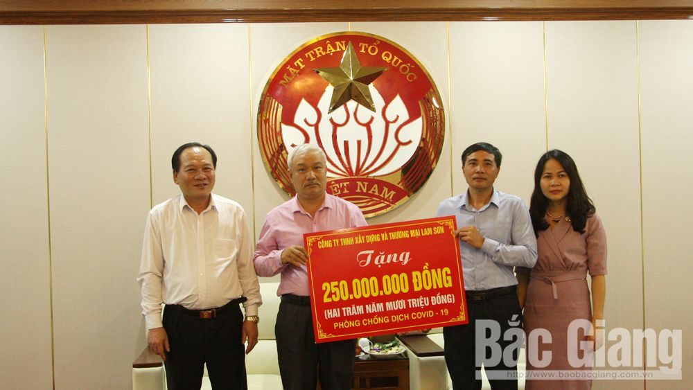 Good deed for Covid-19 prevention and control in Bac Giang province