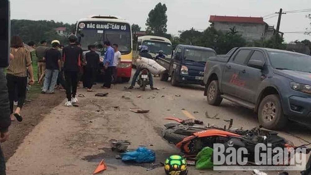 tai nạn giao thông, lái xe, tài xế, Bắc Giang