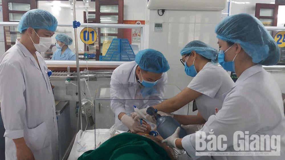 Virus SARS-CoV-2, Sáng kiến bảo vệ nhân viên y tế, Bệnh viện đa khoa tỉnh Bắc Giang, Bệnh viện Bạch Mai