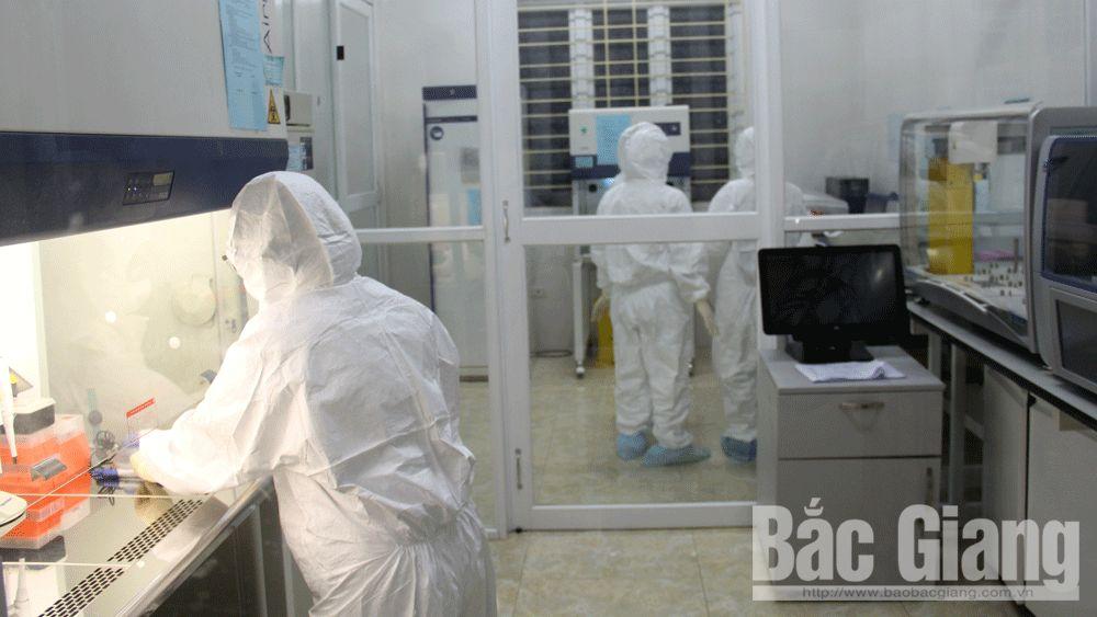 xét nghiệm khẳng định, virus SARS, phòng xét nghiệm, Bắc Giang
