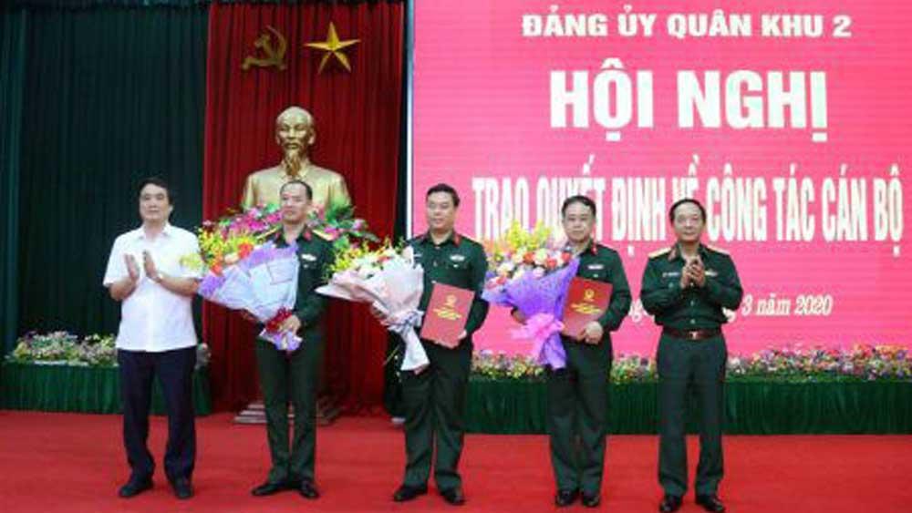 Bộ Quốc phòng bổ nhiệm 2 tân Chính ủy