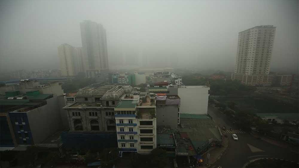 Miền Bắc sáng sớm sương mù, không khí lạnh suy yếu