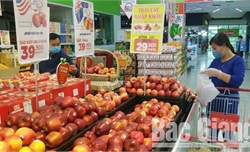 Bắc Giang: Nguồn cung thực phẩm ổn định, giá giảm