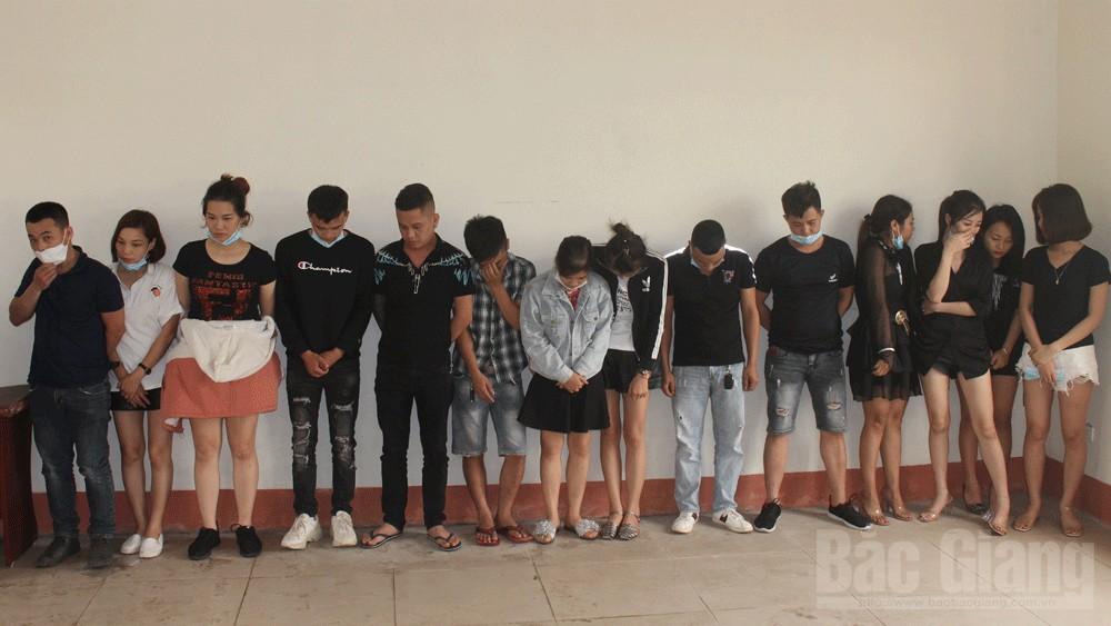 Bắc Giang: Khởi tố 3 đối tượng sử dụng ma túy trong nhà nghỉ