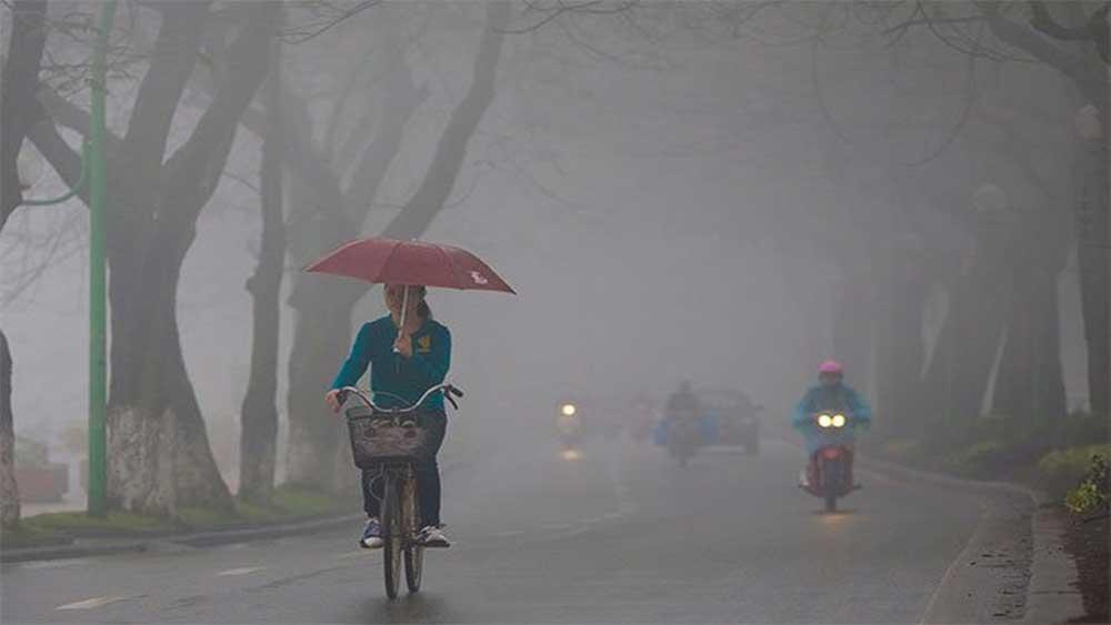 Bắc Bộ, lạnh 15 độ C, mưa phùn, trời rét, ảnh hưởng của không khí lạnh, dự báo thời tiết