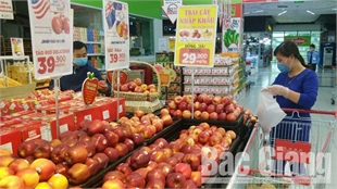 Bac Giang: Stable food supply, reduced prices