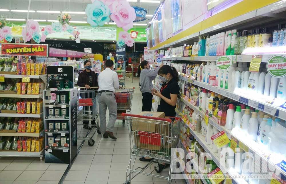 Bac Giang province, Stable food supply, reduced prices, Covid-19, essential goods and services, daily necessities, fresh food
