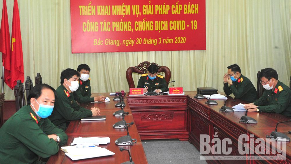 Bac Giang: Military forces actively join hands in Covid-19 combat