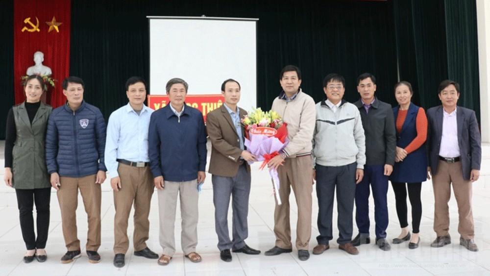 Đồng chí  Nguyễn Văn Tuyển giữ chức vụ Bí thư Đảng ủy xã Ngọc Thiện