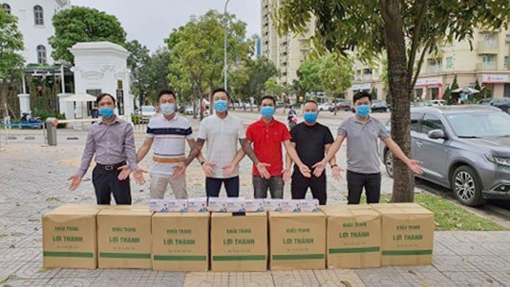 Tuấn Hưng ủng hộ 10.000 khẩu trang y tế cho bác sĩ Bệnh viện Bạch Mai