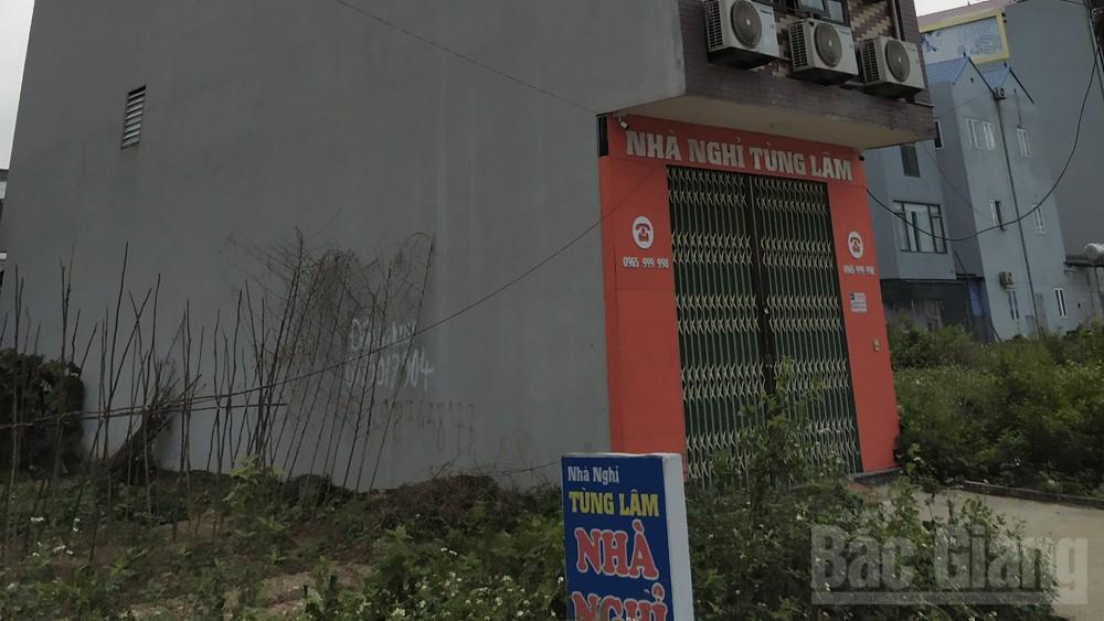 Bắc Giang: Tiếp tục phát hiện hai đối tượng dương tính với ma túy tại nhà nghỉ Tùng Lâm