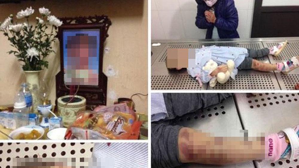 Hà Nội: Bắt khẩn cấp vợ chồng nghi đánh chết con gái 4 tuổi