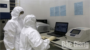 CDC Bac Giang receives permission for SARS-CoV-2 confirmation testing
