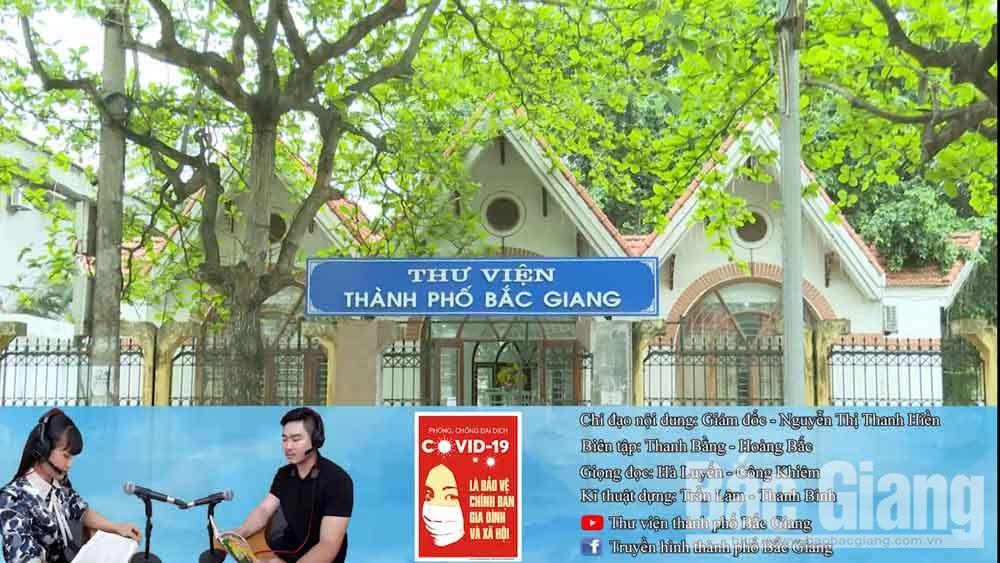 """TP Bắc Giang ra mắt """"Thư viện sách nói"""""""