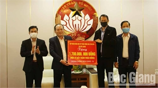 Sponsors join hands with Bac Giang province in Covid-19 combat