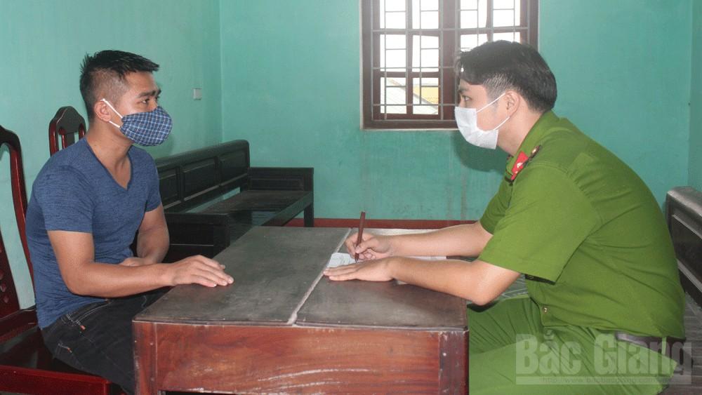 Cưỡng đoạt tài sản; Công an huyện Việt Yên; doanh nghiệp, Bắc Giang.