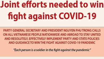 Joint efforts needed to win fight against Covid-19