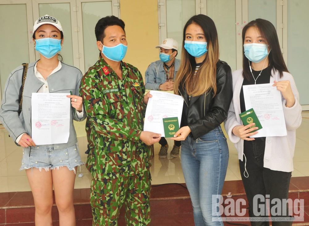 Bộ CHQS tỉnh, Trung đoàn 831, Bắc Giang, hoàn thành cách ly, covid-19
