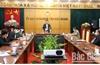 Phó Chủ tịch UBND tỉnh Lê Ánh Dương: Quản lý, giám sát chặt nguồn lây nhiễm; đẩy nhanh mua sắm vật tư y tế