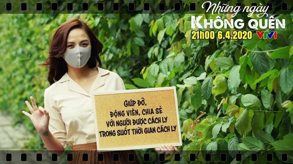Television film, Vietnamese society, Covid-19 outbreak, Unforgettable days, VTV1 Channel,  Covid-19 outbreak, 40-episode film