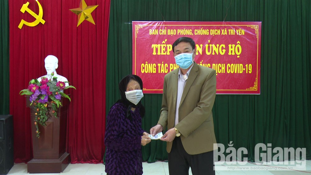 Many organizations and individuals continue supporting Bac Giang province in Covid-19 fight