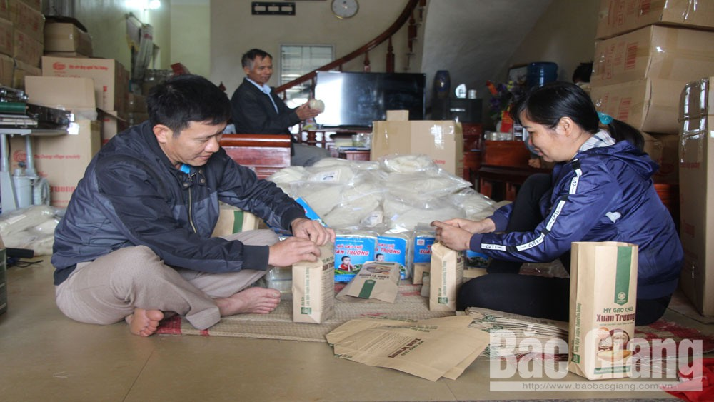 Bac Giang forms linkage chain to boost up consumption of farm produce