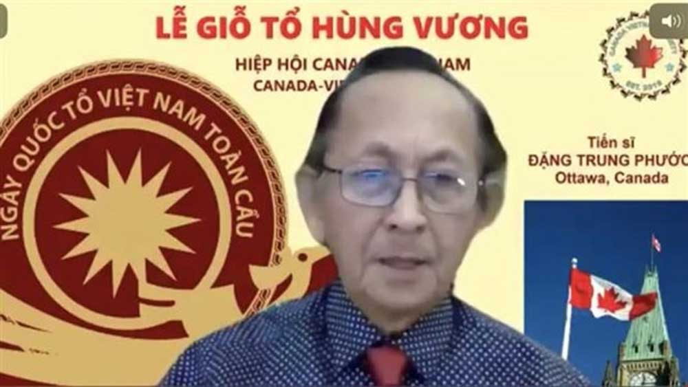 Vietnam Ancestral Global Day celebrated online in Canada