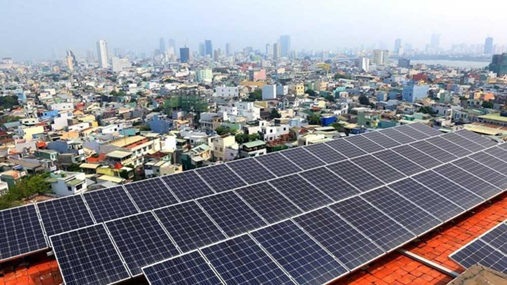 Incentives for solar power, solar power growth, Vietnam, Green Innovation and Development Centre,  online conference, feed-in-tariff