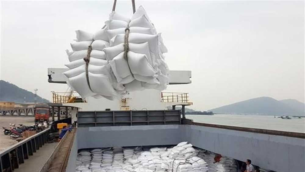 Ministry issues rice export quotas for April