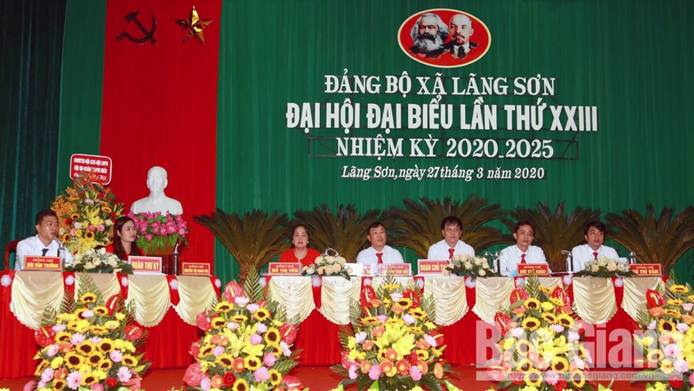 Yên Dũng: Chủ động chuẩn bị các điều kiện tổ chức đại hội chi, đảng bộ cấp cơ sở