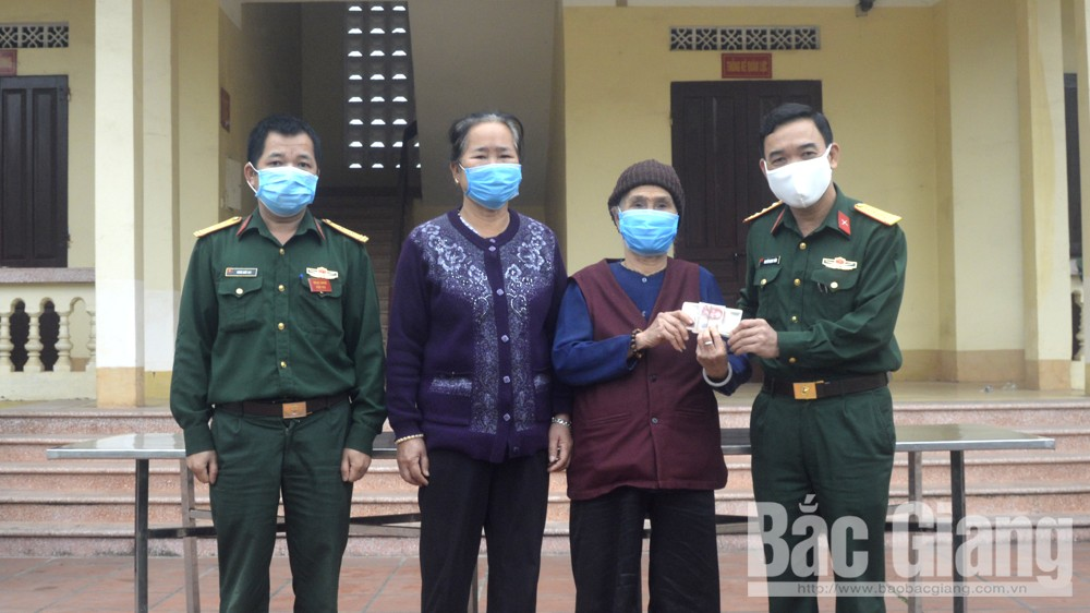 Many sponsors, medical materials and food, Bac Giang province, Covid-19 pandemic, Fatherland Front Committee, Covid-19 prevention and control