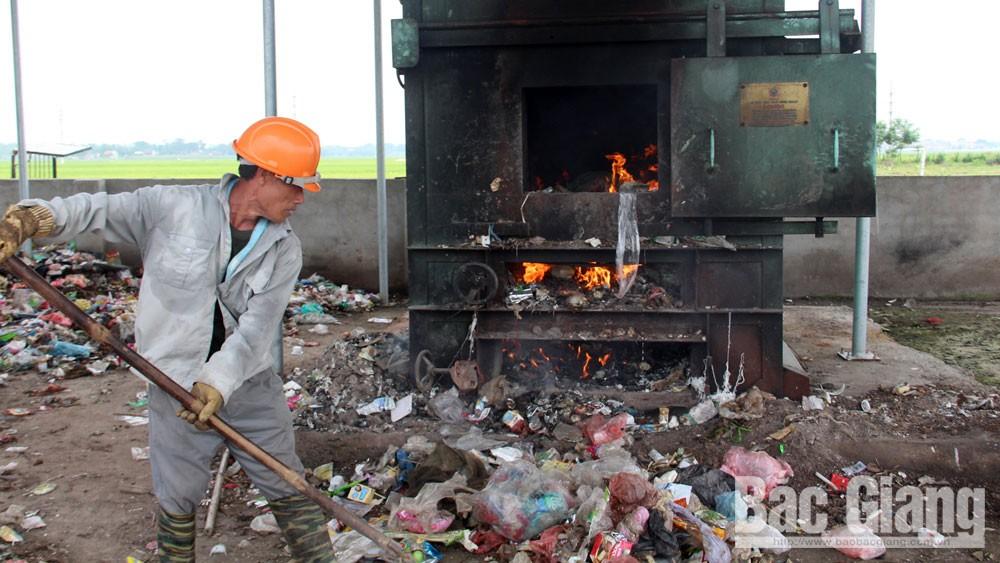 Hiệp Hòa: Đổi mới công nghệ xử lý, tổ chức thu gom rác hiệu quả