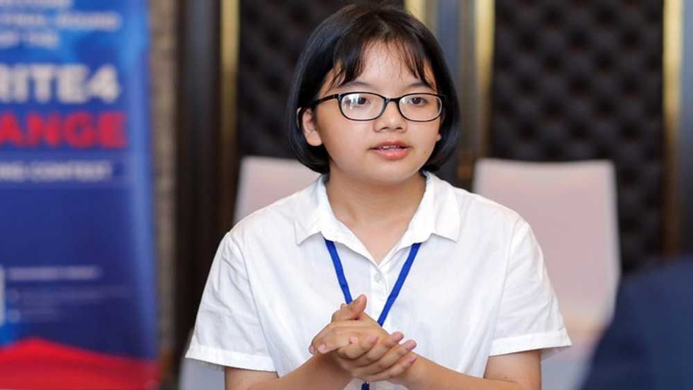 Bac Giang province, owner of English fanpage, combat Covid-19, scholarship of some billions VND, Female student Giap Bui Viet Anh, Update Information for Foreigners
