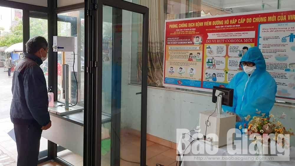 Trung tâm Y tế Lục Ngạn: Đưa nhiệt kế hồng ngoại vào sử dụng