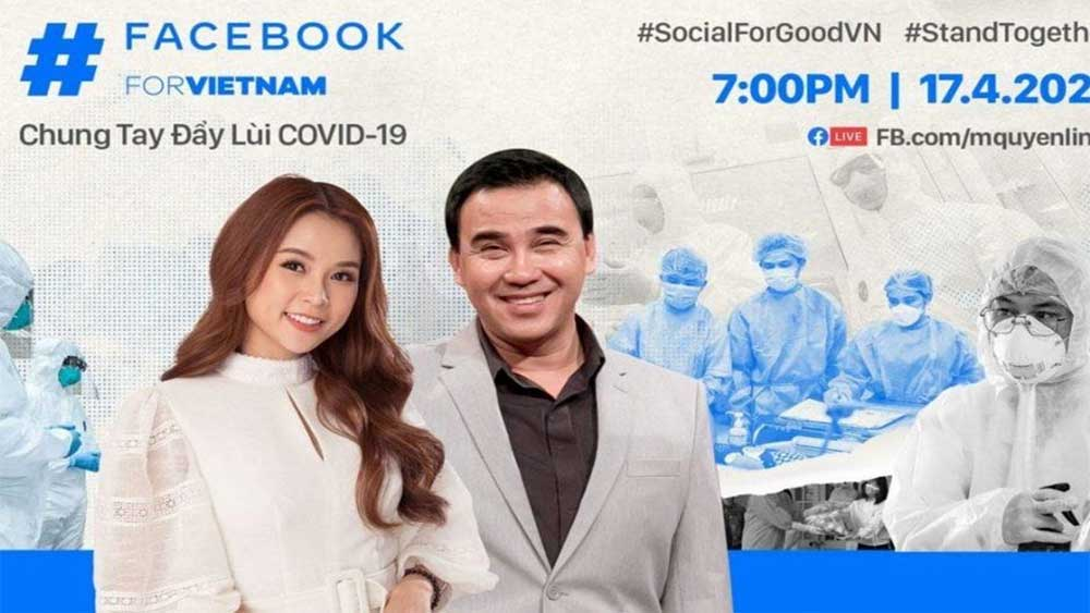 Facebook, joins hands, fight against Covid-19, Vietnam Red Cross Society, livestream,  Covid-19 pandemic, positive aspects