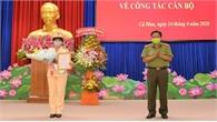 Công an tỉnh Cà Mau có tân nữ Phó Giám đốc