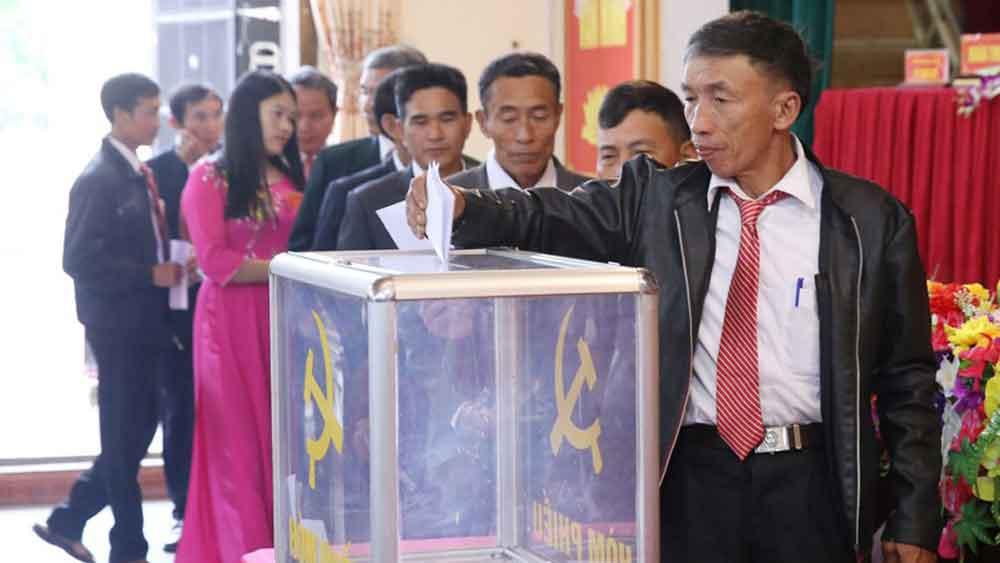 Bầu trực tiếp Bí thư cấp ủy: Mở rộng dân chủ để chọn người tài
